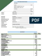 Budget Estmatif Sahara