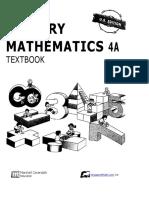 4A Singapore Math 4a- Textbook