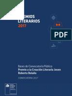 Premios Literarios Roberto Bolano