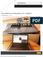 Um Notebook Com Raspberry Pi e LapDock - Embarcados