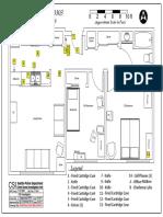 CSI produced crime scene diagram of scene