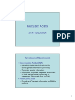 Nucleic Acids Introduction