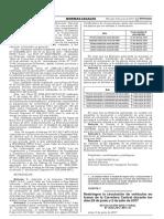 Resolución Directoral N° 2658-2017-MTC