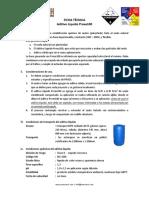 Ficha Tecnica AL Proes100