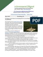 Pa Environment Digest June 26, 2017
