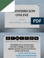 Desinhibicion Online