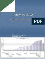 Deuda Pública 2017 Estadísticas