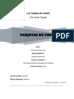 Estructura Tarjeta de Credito