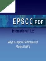 2)Improving Performance of Marginal ESPs by L.boyer-EPSCO