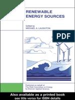 z. Micahel Laughton_renewable Energy Sources