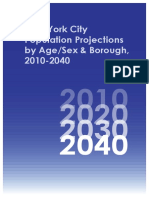 Projections Report 2010 2040 NYC Planning