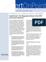 Regulatory Reset of OTC Derivatives Markets