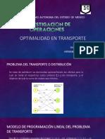 Optimalidad en Transporte 1