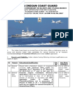 Indian Coast Guard Recruitment 2017 ( 01-2018 Batch)