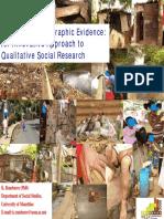 Analysing Photographic Evidence Rambaree 2008