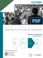 Adaptive Leadership - Workbook 3