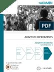Adaptive Leadership - Workbook 4