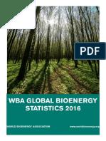 WBA Global Bioenergy Statistics 2016
