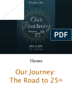 Concert Launch Our Journey to 25th