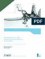 Bepaling Van Kalk-koolzuurevenwichten in Drinkwater