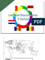 Les Pays Francophones en Europe
