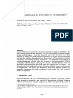 Strain Softening of Concrete in Compression