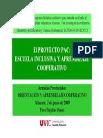 PDF Escuela Inclusiva Ponencia PERE PUJOLAS