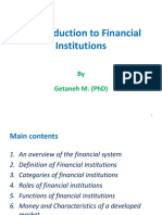 Chapter 1- Financial Institutions