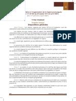 Dahir Relatif à l%27organisation de La Région