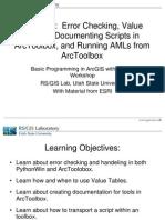 Python ArcGIS Lesson7