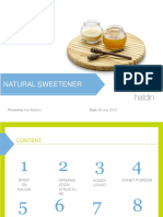Natural Sweetener