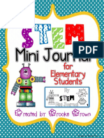 Free Stem Challenge Mini Journal