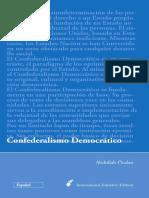 Abdullah Ocalan - Confederalismo Democratico