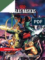 D&D 5ª Reglas Básicas ~ Vintage Cover