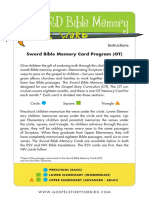Bible Memory Cards