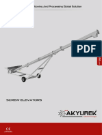 Screw Elevator - Akyurek Technology