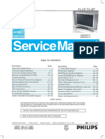 Service Manual Philips f1 Chassis 15mf605t 10444 Lcdtv