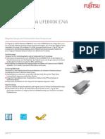 Ds Lifebook e746 De