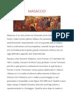 Masaccio Ricerca (Arte)