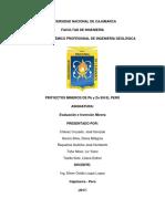 Proyecto Mineros de Pb y Zn en El Perú (1)