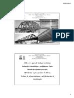 Aula 14 - Treliças Planas Isostáticas - Parte I.