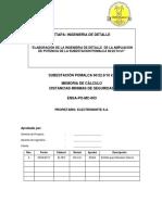 ENSA-PO-MC-003 Distancias de Seguridad Rev A