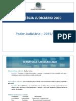 ESTRATÉGIA JUDICIÁRIO 2020