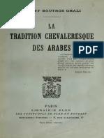 Boutros Ghaly - Chevalerie Arabe