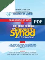 2015 Programme of Activities