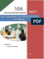 LEGISLACION EDUCATIVA LEY N° 28044.docx