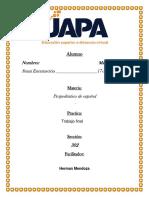 Trabajo Final Propedeutico de Espanol