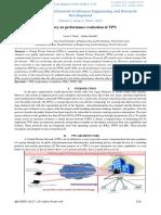 A Survey on Performance Evaluation of VPN-IJAERDV04I0324072