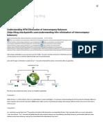 Understanding HFM Elimination of Intercompany Balances