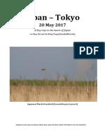 Japan – Tokyo Report 2017 May